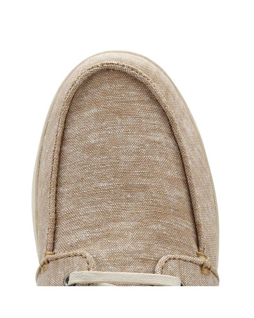 2dddf3db4cd573 ... TOMS - Mens Brown Chambray Culver Boat Shoes Men s Boat Shoes In Brown  for Men ...