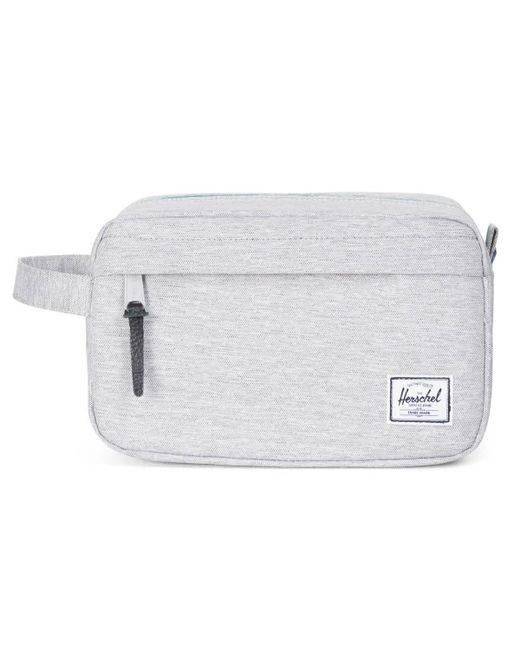 Herschel Supply Co. - Gray Light Grey Crosshatch Chapter Toiletry Bag - Lyst
