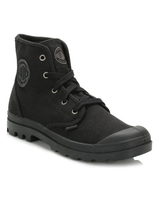 Palladium | Womens Black Pampa Hi Boots | Lyst