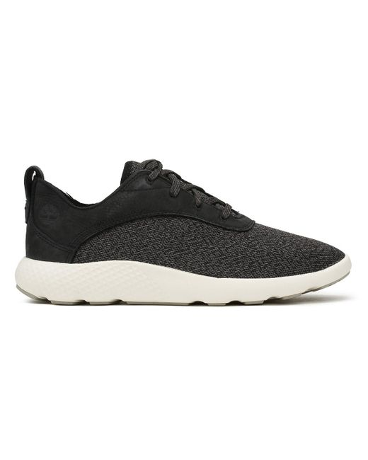 e28d2713806 ... Timberland - Mens Black Flyroam Ox Trainers Men's Shoes (trainers) In  Black for Men ...