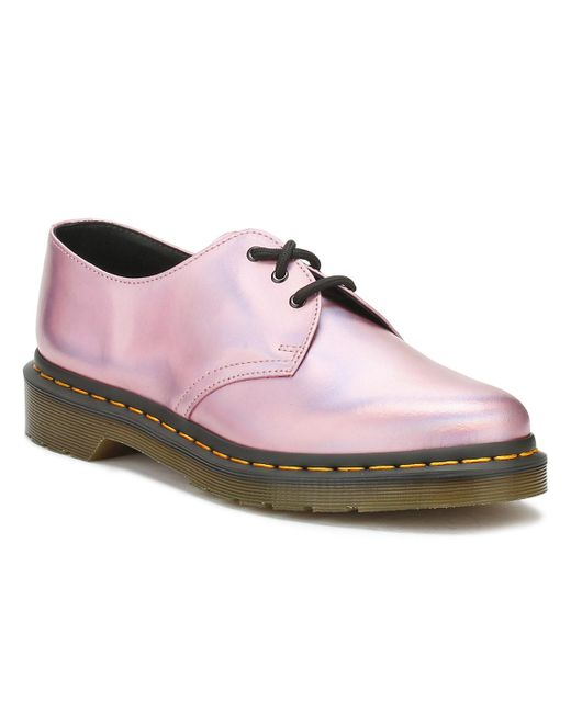 Dr. Martens - Dr. Martens Womens Mallow Pink 1461 Shoes - Lyst