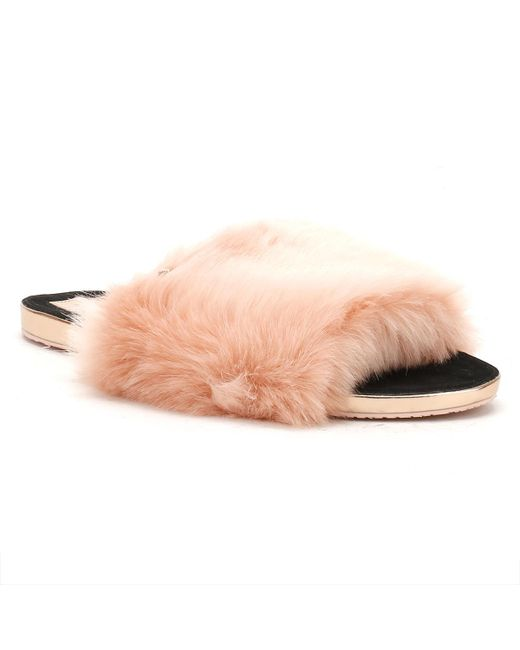 Ted Baker - Womens Pink Pancey Slippers - Lyst