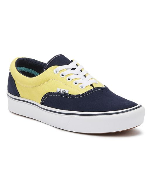 a6af9f731c Lyst - Vans Comfycush Era Mens Blue   Gold Trainers in Blue for Men