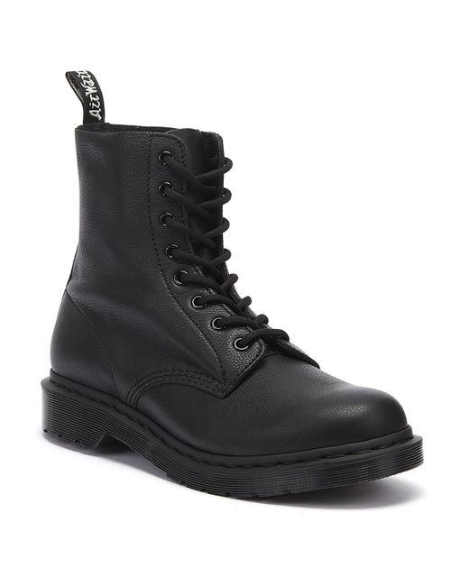 Dr. Martens Dr. Martens 1460 Pascal Virginia Womens Mono Black Boots