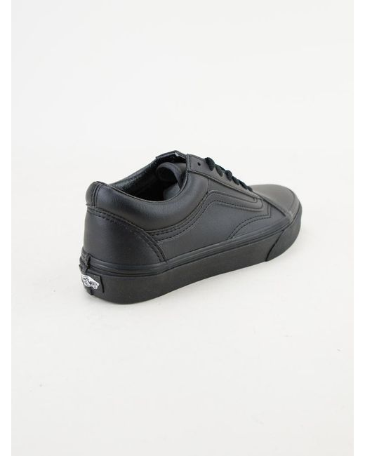 ... Vans - Old Skool (classic Tumble) Black Mono Trainers for Men - Lyst ... 00819766a