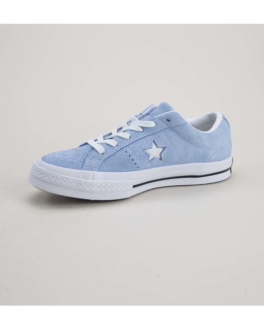 87aa48f33be6d7 ... Converse - Blue 161541c One Star Ox Provence Purple-silver-egret  Trainers - Lyst ...