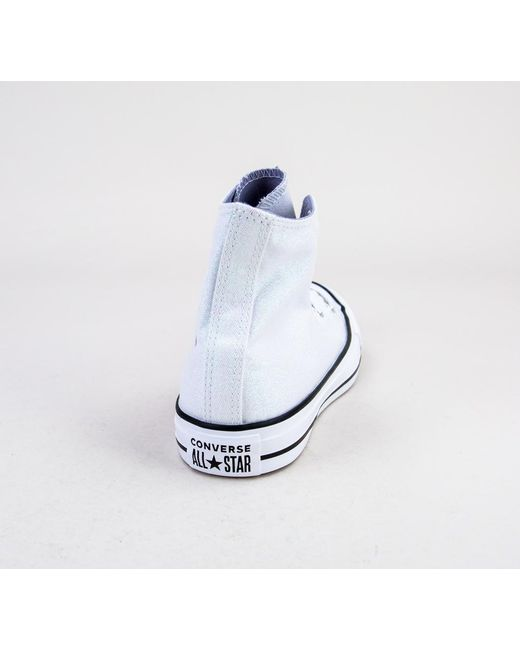 752fd8740a63 ... Converse - Blue 561709c Ct As Hi White-white-black Trainers - Lyst ...