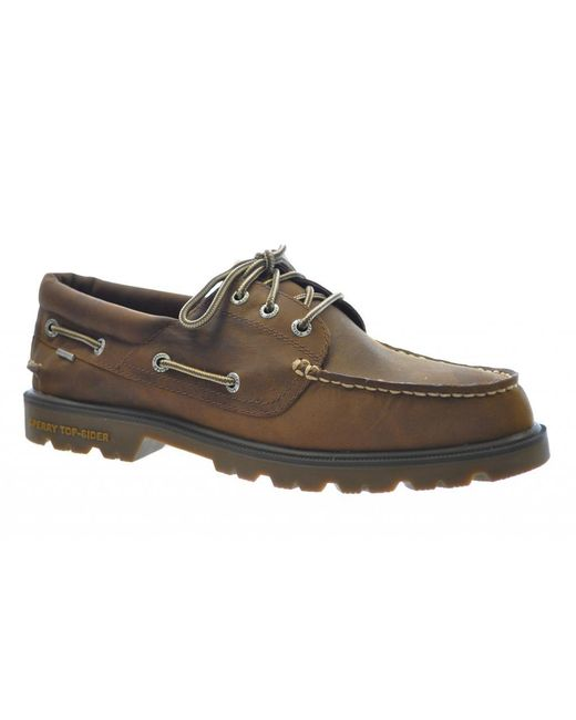 Sperry Top-Sider - Brown A-o Lug 3-eye Shoes for Men - Lyst