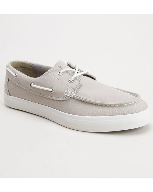 bcfeaf41e3b Timberland - White A1q94 Union Wharf 2 Eye Shoes for Men - Lyst ...