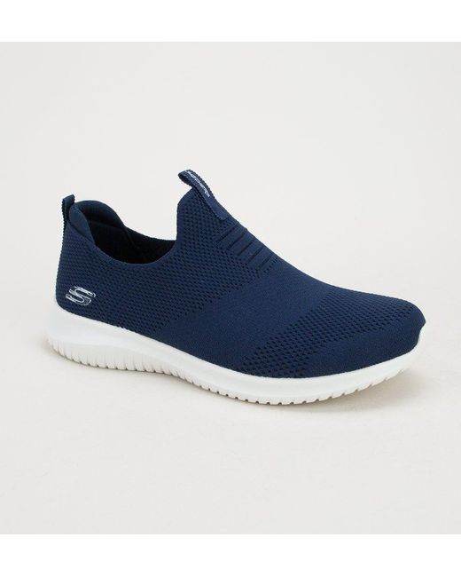 652636c6c11a Skechers 12837 Ultra Flex-first Take Navy Trainers in Blue - Save 50 ...
