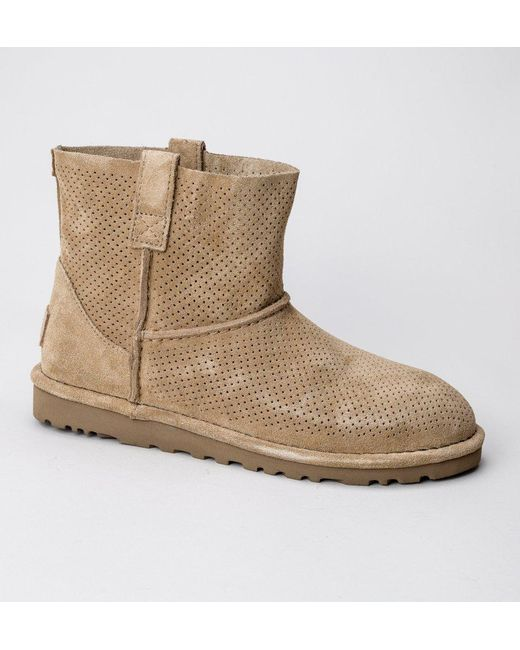 Ugg - Multicolor Ugg W Classic Unlined Mini Perf Boots - Lyst ...