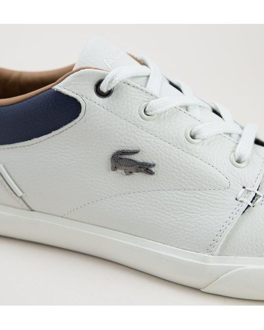 4fe37f76c ... Lacoste - Multicolor Bayliss 118 1 Cam Off Wht-nvy Trainers for Men -  Lyst ...
