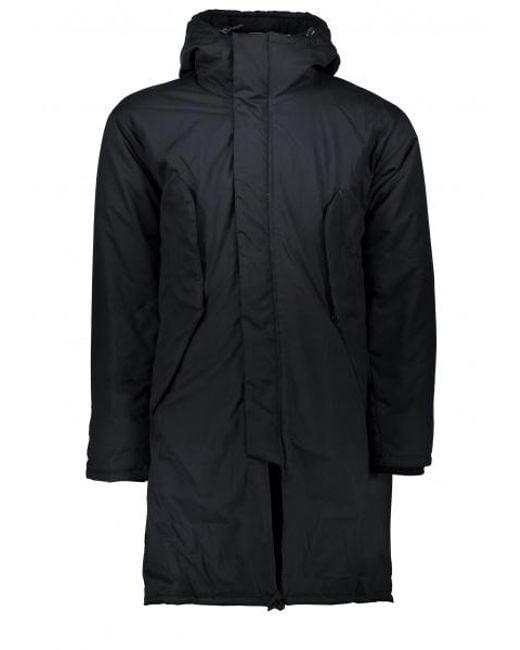 Monitaly - Black Harry Coat Poplin for Men - Lyst