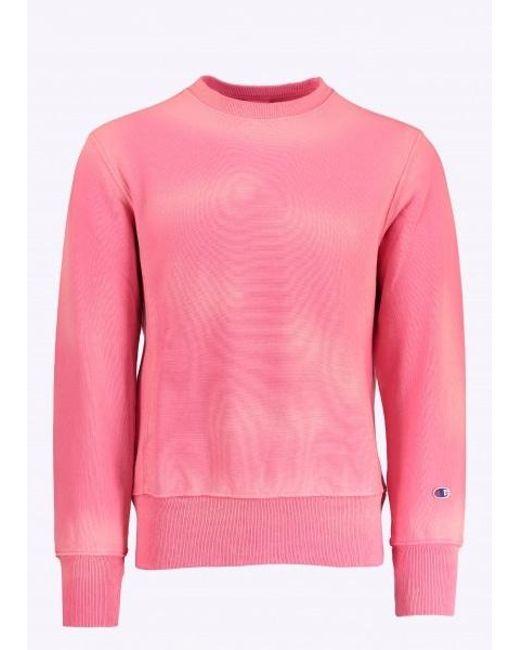 Champion Crewneck Sweatshirt in Pink for Men - Save 42% | Lyst