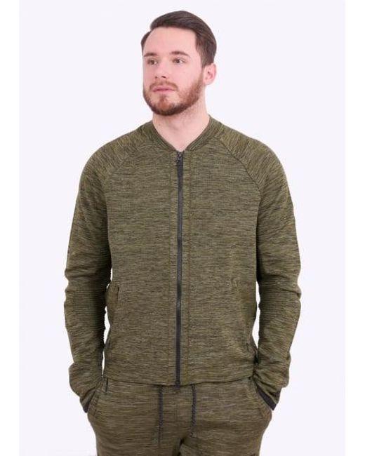 Nike - Green Tech Knit Jacket for Men - Lyst