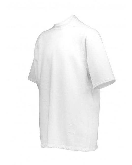 ... Rick Owens Drkshdw - White Woven Sweat Jumbo Tee for Men - Lyst ... 0a69385a8a567