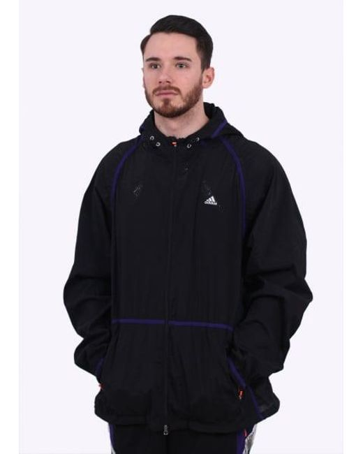 Adidas Originals - Black Wvn Jkt for Men - Lyst