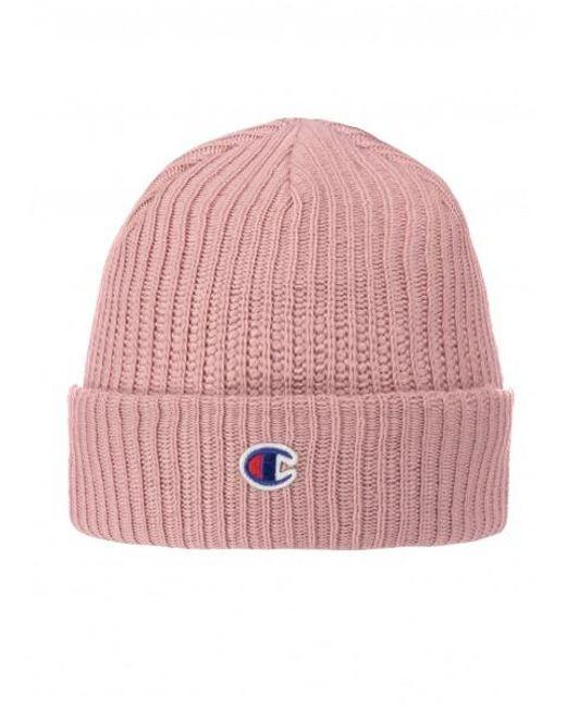 e9555c688148c Champion - Pink Beanie Cap for Men - Lyst ...
