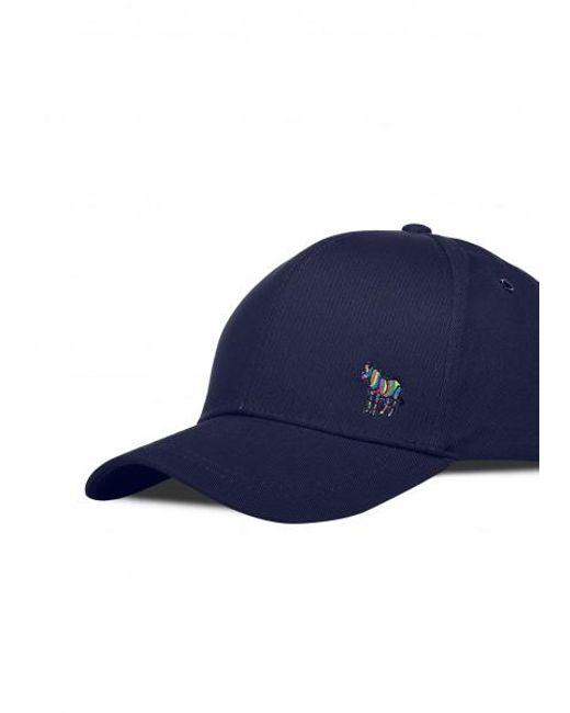 6ee6830c74f ... Paul Smith - Blue Zebra Baseball Cap for Men - Lyst ...