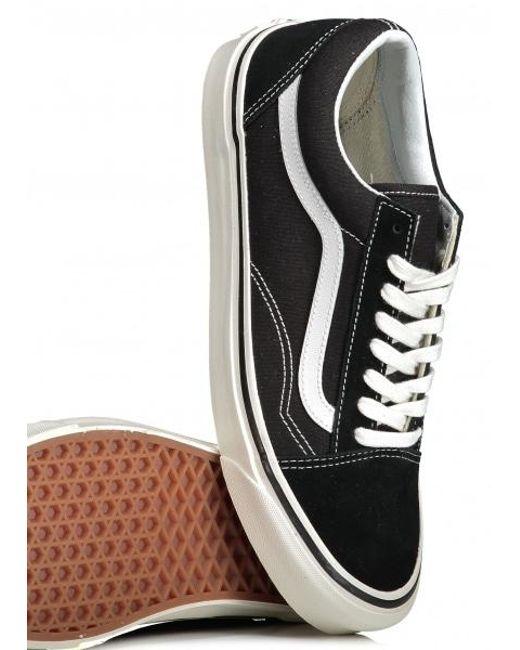 2aeed807496c5f Vans Old Skool Shoes (trainers) in Black - Save 56.962025316455694 ...