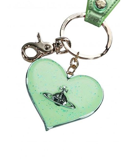 34621d07c3 ... Vivienne Westwood - Green Mirror Heart Gadget - Lyst ...