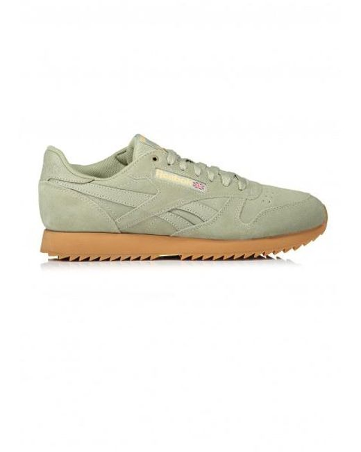e318bc7420c2f Reebok - Green X Montana Cans Cl Leather for Men - Lyst ...