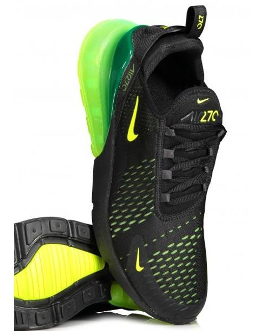 low priced 1d2a9 82776 ... Nike - Black Air Max 270 for Men - Lyst ...