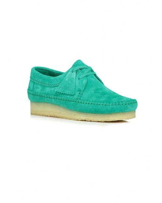 822cdcc974d13 ... Clarks - Green Weaver Suede for Men - Lyst ...