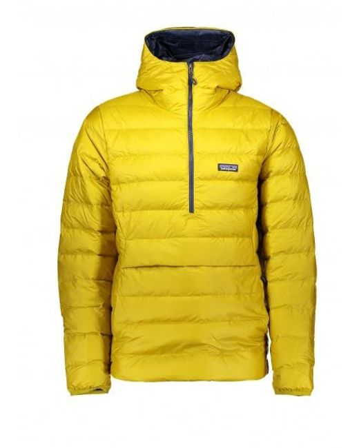 Patagonia Down Sweater Hoody Po In Yellow For Men Lyst