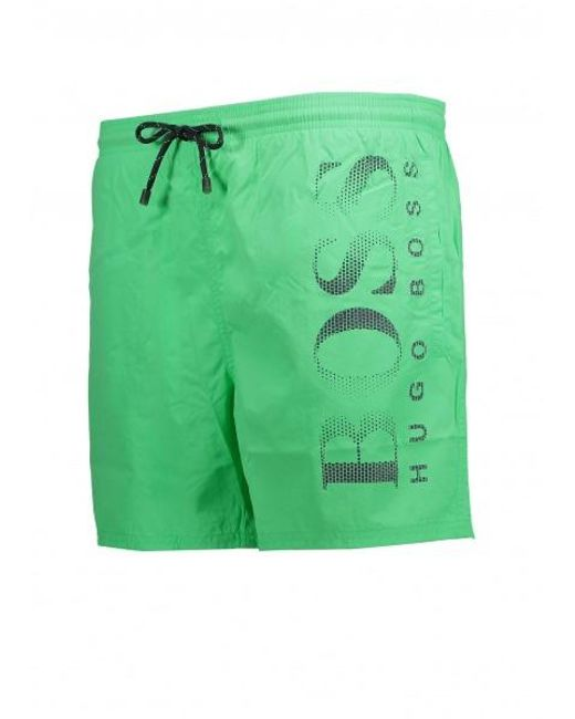 6f7031f78 ... BOSS - Green Octopus Shorts for Men - Lyst ...