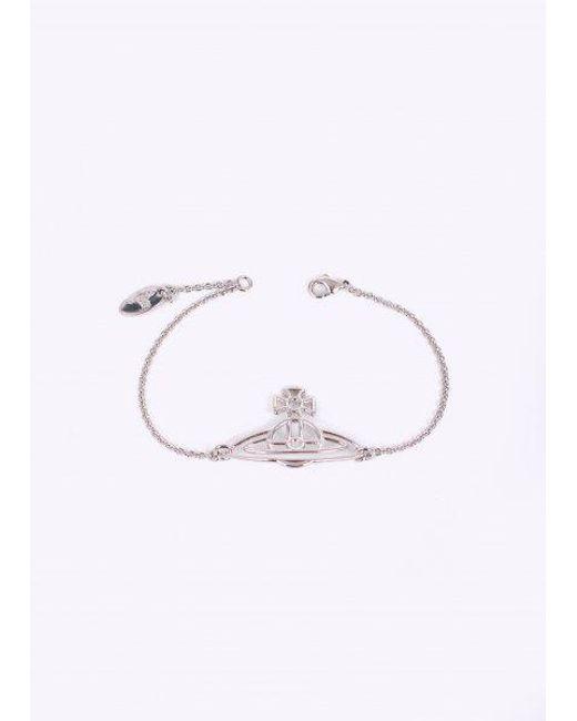 Vivienne Westwood | Multicolor Thin Flat Orb Bracelet | Lyst