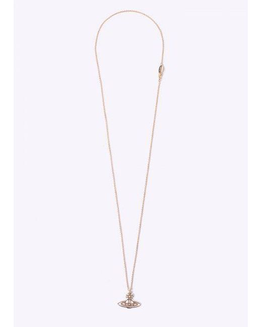Vivienne Westwood | Yellow Thin Orb Pendant | Lyst