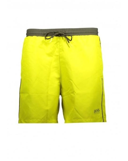 dfa06d0a1d BOSS by Hugo Boss - Yellow Starfish Shorts 731 for Men - Lyst ...