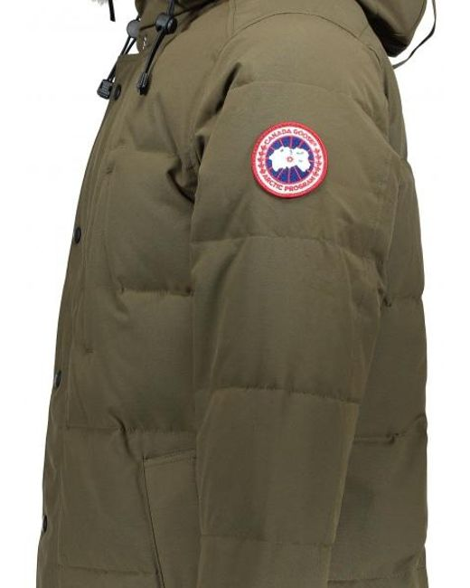 ... Canada Goose - Green Carson Parka for Men - Lyst ...