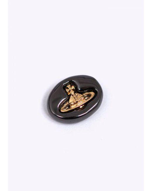 615fcc54f ... Vivienne Westwood - Multicolor Embossed Logo Stud Earrings - Lyst