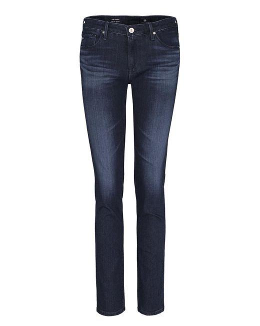 AG Jeans - Blue Prima Cigarette Jean In Gallant - Lyst