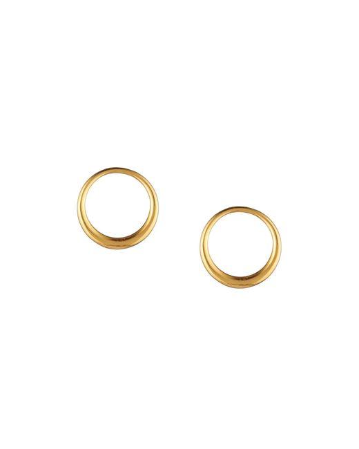 Trina Turk | Metallic Hollywood Hills Hoop Post Earrings | Lyst