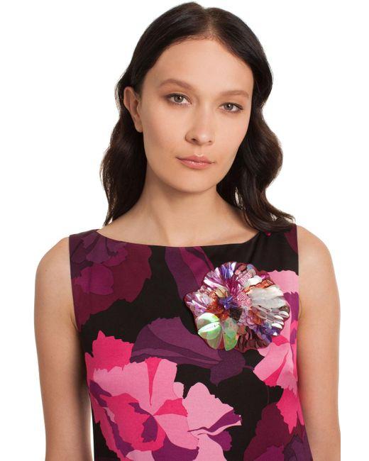 Trina Turk | Purple Laurel Floral Brooch | Lyst