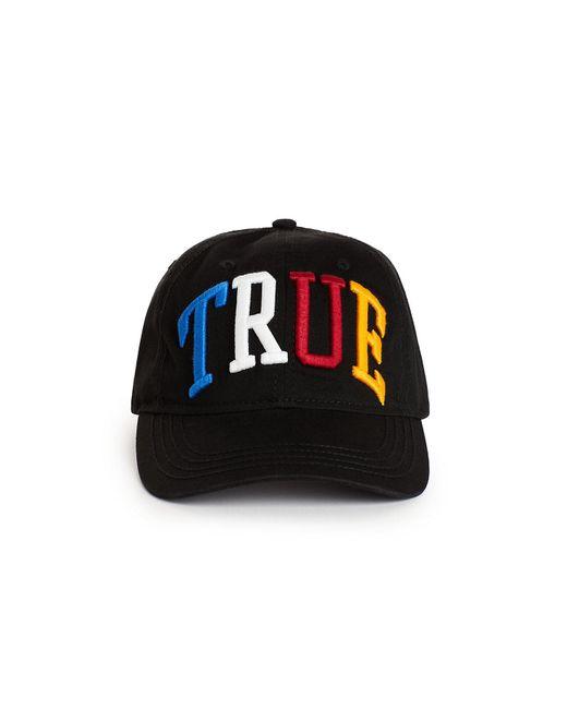 eb80960eda2 ... True Religion - Black Rainbow 3d Baseball Cap for Men - Lyst ...