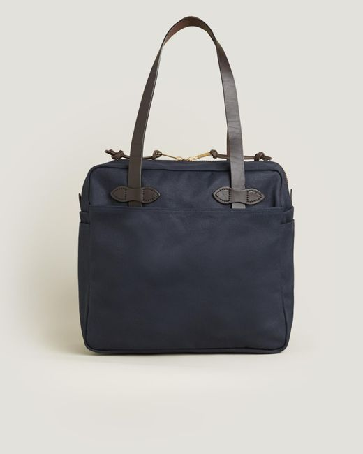 Filson - Blue Tote Bag With Zipper - Lyst