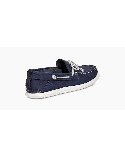 c9cc2125867 UGG Men's Beach Moc Slip On in Blue for Men - Lyst