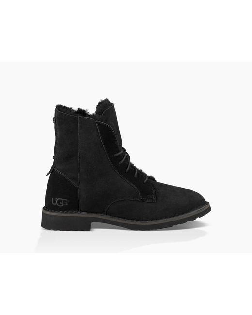 Ugg - Black Quincy Boot Quincy Boot - Lyst