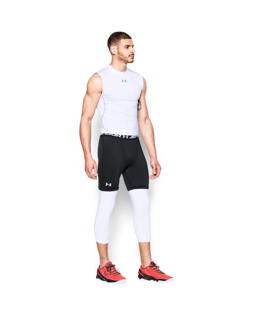 Under Armour | Black Men's Sc30 3⁄4 Compression Leggings for Men | Lyst