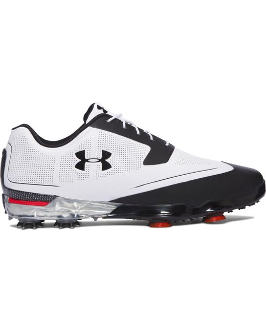 Under Armour | Black Men's Ua Tour Tips Golf Shoes for Men | Lyst