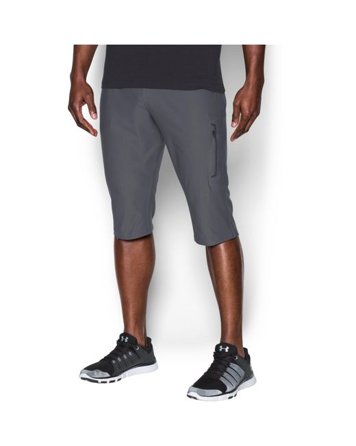 Under Armour | Gray Men's Ua Elevated Knit 3⁄4 Pants for Men | Lyst