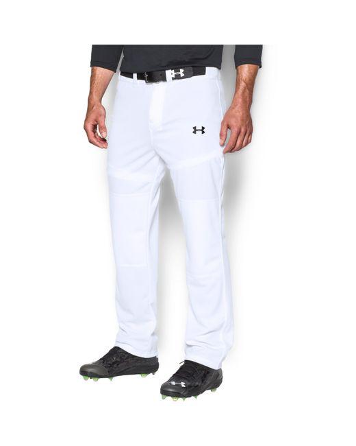 Under Armour - White Men's Ua Clean Up Baseball Pants for Men - Lyst