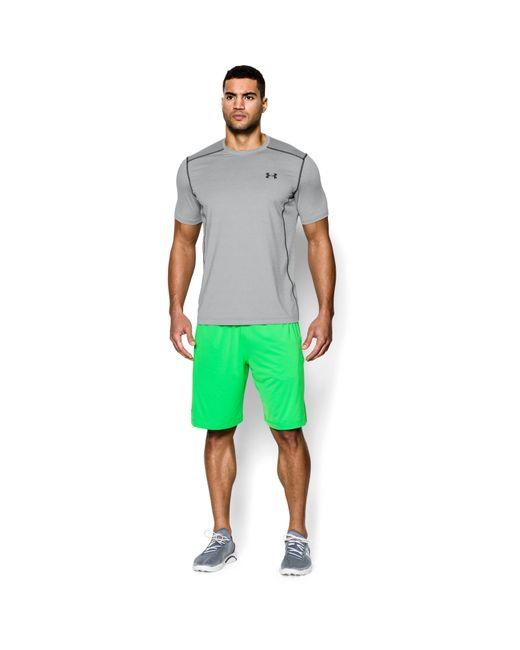 Under Armour - Gray Men's Ua Raid Short Sleeve T-shirt for Men - Lyst