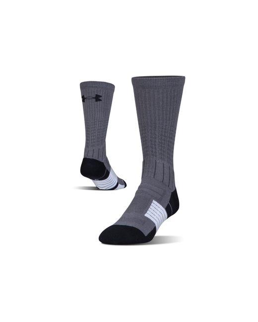 Under Armour - Black Men's Ua Unrivaled Crew Socks for Men - Lyst