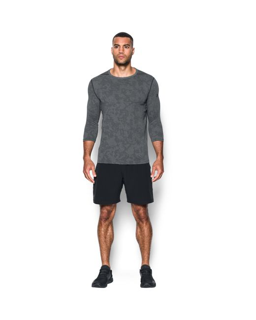 Under Armour - Black Men's Ua Threadbornetm 3⁄4 Utility T-shirt for Men - Lyst