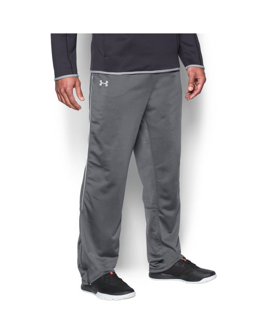 Under Armour - Gray Men's Ua Rival Knit Warm-up Pants for Men - Lyst
